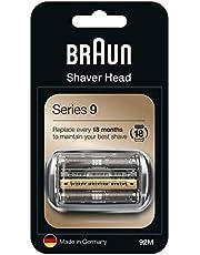 Braun Series 9 92M Elektrisch Scheerapparaat Vervangingskop Zilver- Compatibel Met Series 9
