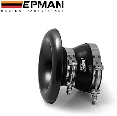 EPMAN 3.15-3.94 80mm-100mm 4-Ply Straight Turbo//Intake Piping Reducer Coupler Silicone Hose Turbo Silicone Pipe Black With Purple