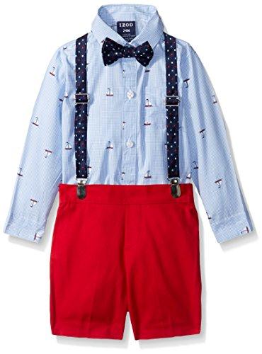 IZOD Baby Boys Suspender Set