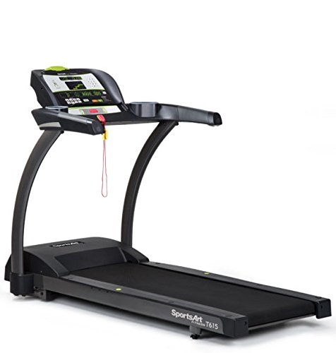 Ironcompany.com SportsArt Fitness T615 Foundation Series Treadmill with MyFlex Plus Deck Cushioning - Residential and Light Commercial Treadmill