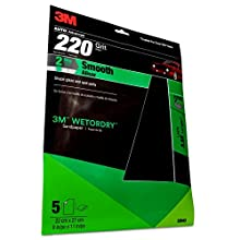 """3M 32043 Imperial Wetordry 9"""" x 11"""" P220A Grit Sheet"""