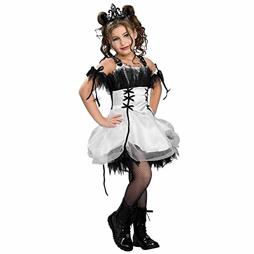 Drama Queens Gothic Ballerina Costume, white, Medium]()