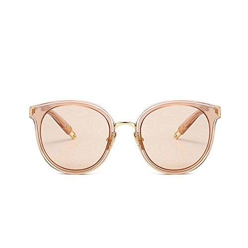 Gafas CTao Sol Gafas Champagne Moda Leopard Callejero Pareja Gafas Protección Estilo UV De Planas Estrella De Gafas Sol pvqwWAnqdf