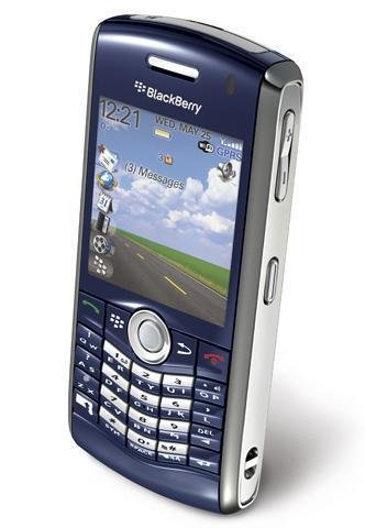 BlackBerry Pearl 8120 Unlocked Phone with Wi-Fi and Video Recording - No Warranty - Blue