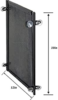 10 Gallon Aqarium Divider with Suction Cups - Fish Tank Divider Perfect for Betas