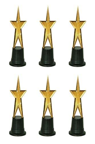 (Beistle 50125 6-Pack Awards Night Star Statuette)