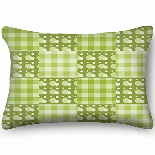 best bags Patchwork Green Curtain Miscellaneous Skin Cool Super Soft and Luxury Pillow Cases Covers Sofa Bed Throw Pillow Cover with Envelope Closure 1624 Inch