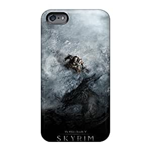 Shockproof Hard Phone Cover For Apple Iphone 6s (YgY1630oxlo) Unique Design Stylish Skyrim Dragon Shout Skin