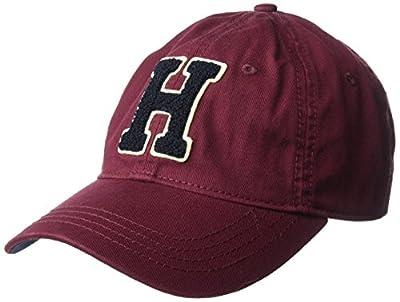 Tommy Hilfiger Men's Samuel Chenille Dad Hat by Tommy Hilfiger Headwear Child Code