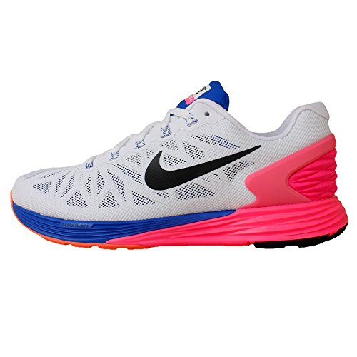 4db8e8408468 Nike Womens Lunarglide 6 Running Shoes White Black Pink Blue (7.5) - Buy  Online in Oman.