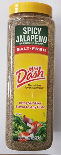 Mrs. Dash Salt Free Spicy Jalapeno Seasoning Blend, 21 ()