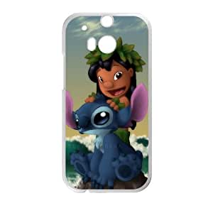 Lilo & Stitch HTC One M8 Cell Phone Case White persent xxy002_6065702