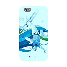 HomeSoGood Freestyle Skiing White 3D Mobile Case For iPhone 6 (Back Cover)