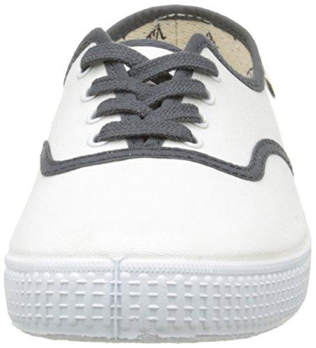 Basses Baskets Blanco Mixte Blanc Inglesa Bicolor 20 Victoria Lona Adulte qZOwU6InHx
