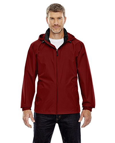 Ash City - North End North End Men's Zipper Techno Lite Jacket, Molten Red 751, XXXXX-Large ()