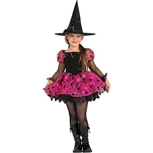 Rubie's Costume Moonlight Magic Witch Costume, One Color, Toddler]()