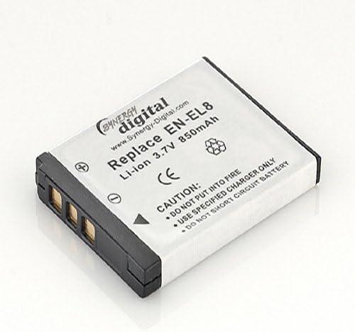 AKKU LADEGERÄT MICRO USB für Nikon CoolPix EN-EL8