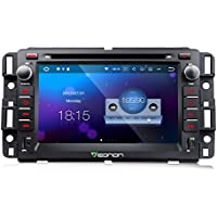 Eonon GA8180 Car Audio Stereo Radio 7 Inch Android 7.1 In Dash Touch Screen GPS Navigation for Chevrolet GMC Silverado Express Avalanche Acadia Impal 2GB RAM with DVD Player Bluetooth Head Unit