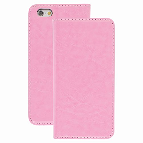 New Style Apple iphone 6s Case cover, Apple iPhone 6s Light Pink Designer Style Wallet Case Cover