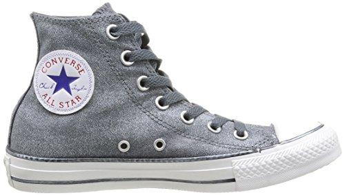 Wash Converse Gris Chuck Hi Femme femme Gris Baskets 12 All Sparkle mode Taylor Star xFxTY