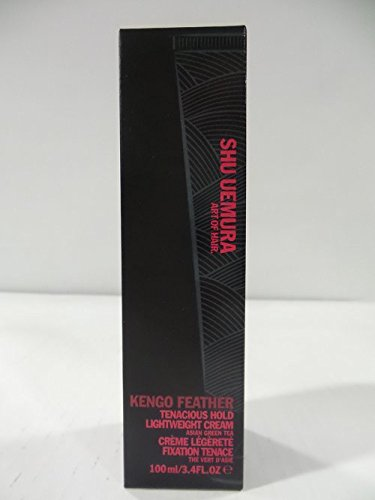 Shu Uemura Kengo Feather Tenacious Hold Lightweight Cream for Unisex, 3.4 Ounce (Pack of 7)