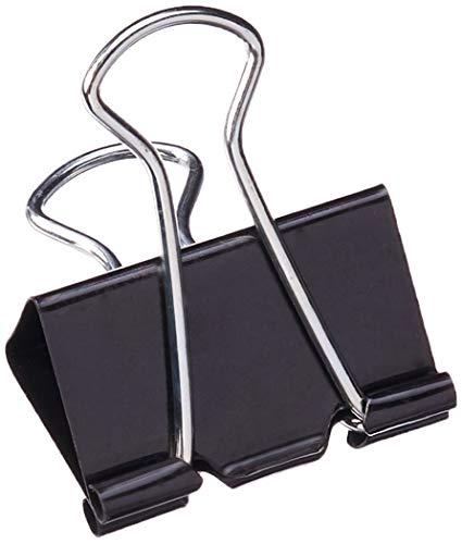 Universal Medium Binder Clips, Steel Wire, 5/8
