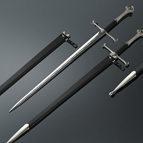 Cosplay Sword, The Lord of the Rings Anduril Sword of King Elessar 1:1 Replica Aragorn Magical Sword