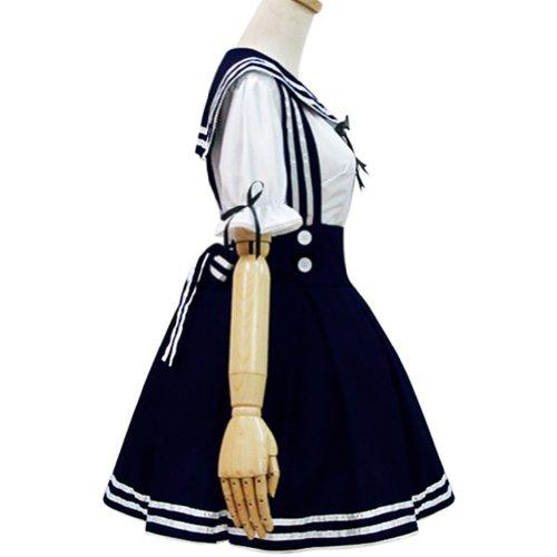 Japan School Uniform Cosplay Costume Anime Girl Maid Sailor School Lolita Dress