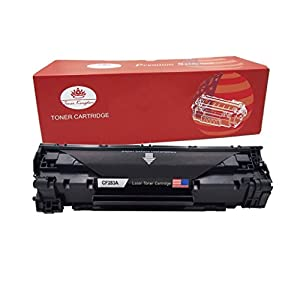 Toner Kingdom New Compatible with CF283A 83A Toner Cartridge for Use in HP LaserJet Pro M201dw M201n, MFP M125a M125nw M125rnw M127fn M127fw M225dw M225dn Printers - 1 Pack, Black