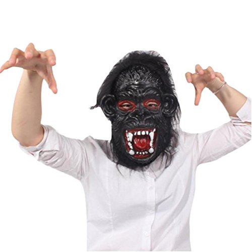 [Halloween Mask, Bigban 1 PC Bloody Face Off Horror Halloween Costume Mask (F)] (Scary Face Paint Halloween Costumes)