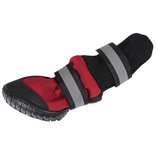 Paw Tech All Weather Dog Boot, Large, Red by American Kennel Club (Image #3)