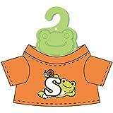 かえるのピクルス ロゴミニTシャツ オレンジ