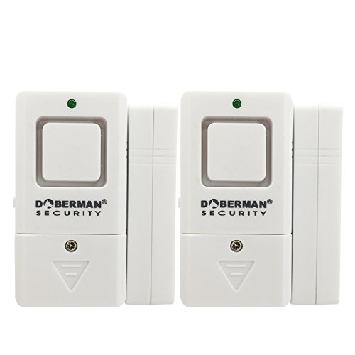 Doberman Security Magnetic Trigger, Sturdy, Compact Security Alarm, White (SE-0180W-2PK) For Sale