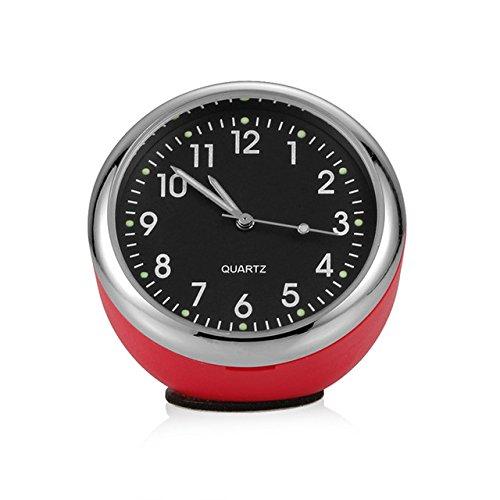 Meet the world Car Ornaments Luminous Auto Watch Clock
