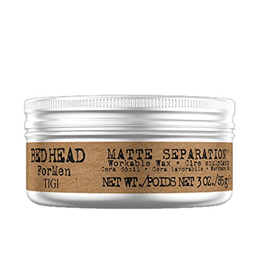 TIGI Bed Head for Men Matte Separation Workable Wax, 3 Ounce 1