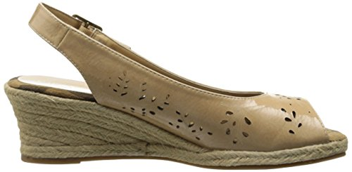 Easy Street Kvinna Sedona Wedge Sandal Taupe