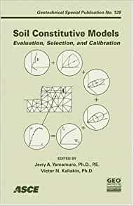 soil constitutive models evaluation selection and calibration pdf
