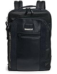 Alpha Bravo Davis Laptop Backpack - 15 Inch Computer Bag for Men and Women - Black