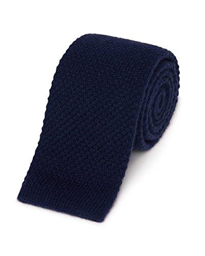 Gitman Cashmere Knit Tie Grey (Cashmere Silk Knit Tie)