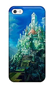 Tpu Case For Iphone 5/5s With Nice Castle