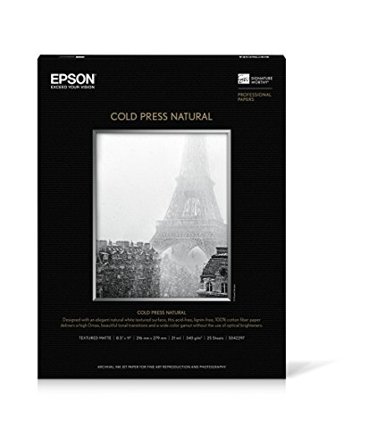 EPSS042297 - Cold Press Natural Fine Art Paper (Epson Epson Cold Press)