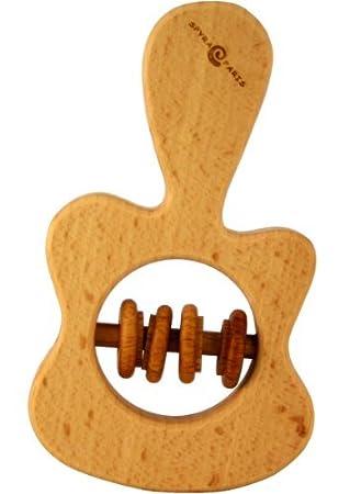 Amazon.com: Guitarra Kid Mordedor 100% Madera de Haya ...