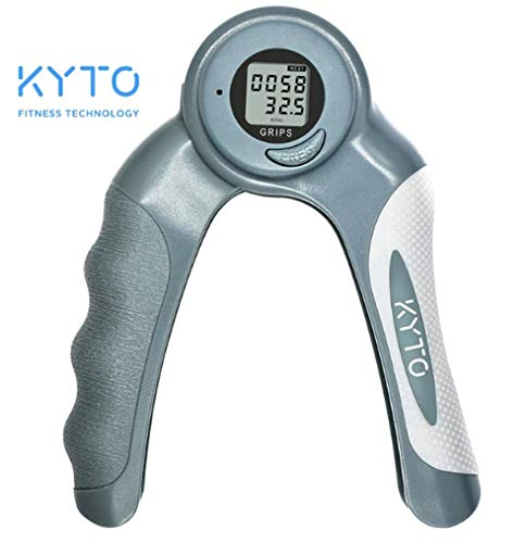 KYTO ChicChillShop Adjustable Hand Grip Increase Strength Spring Finger Pitch Digital Arm Exercise Dynamometer Fitness Exercise Wrist Forearm