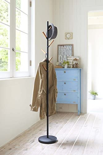 YAMAZAKI Plain coat rack, one size.