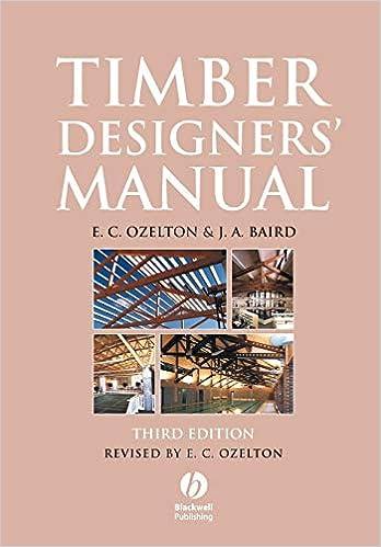 Timber Designers Manual Ozelton E C Baird J A 9781405146715 Amazon Com Books