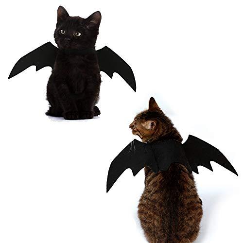 세나 강 캣 할로윈 의상 고양이 BAT WINGS 코스프레 애완 동물 의류 고양이 개 드레스 장식을 위해 적당한 고양이와 작은 개