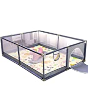 Baby playpen, Playpens for Babies, Kids Safety Play Center Yard Portable Playard Play Pen with gate for Infants and Babies Size200*180*65CM