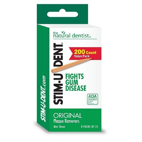 Mint Stimudent Removers Plaque - STIM-U-DENT - Plaque Removers, Value Pack, Mint, 8 pk - 25 ea