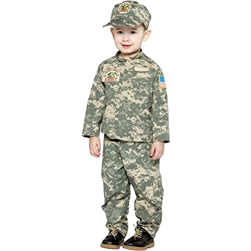 Toddler US ARMY Costume (Size:2-4T) -