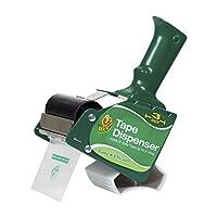 Dispensador de pistola de cinta de empuñadura de pistola estándar de la marca Duck para cinta de embalaje de núcleo de 3 pulgadas de ancho y 3 pulgadas (1064012)